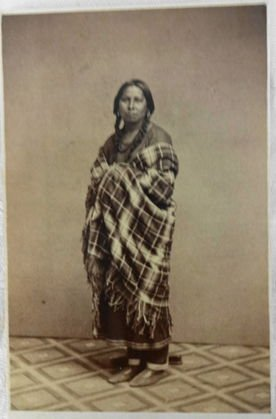 American Indian CDVs (2), Sioux Women - 3