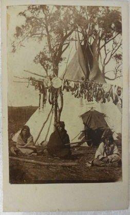 American Indian CDV s (2), Sioux Minnesota & Winibago