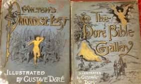 Gustave Dore Illustrated Books 2 Vols 19th Century