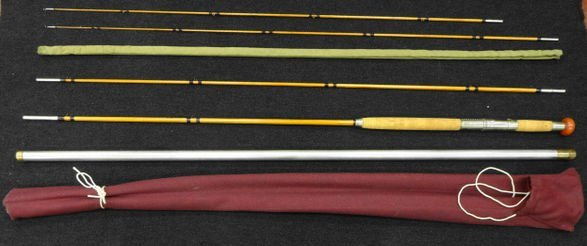 H. L. Leonard Split Bamboo Fishing Rod