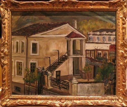 Greek School Oil Painting, c.1930