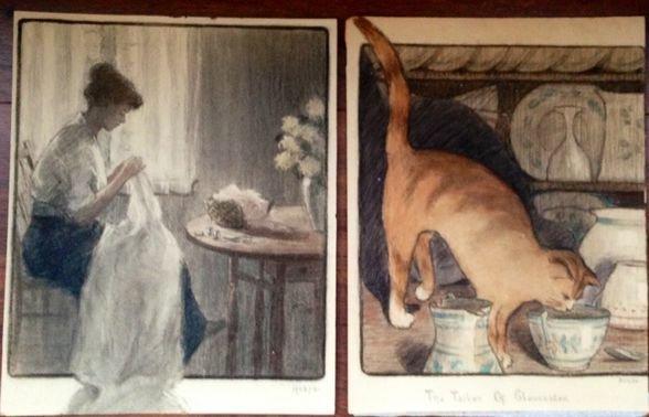 American Illustration Paintings, Heese, c.1920