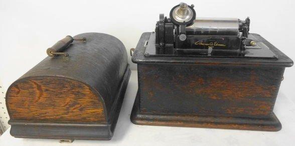 Edison Standard Phonograph Cylinder Player