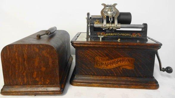 American Graphophone Cylinder Music Box, Model C