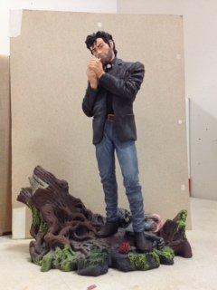 Preacher, Vertigo Comic Book Statue, DC Direct