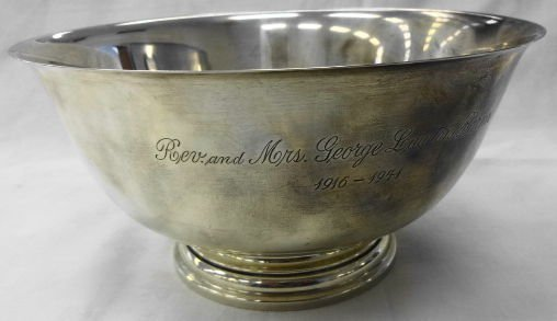 Sterling Paul Revere Bowl, 28.6 oz.