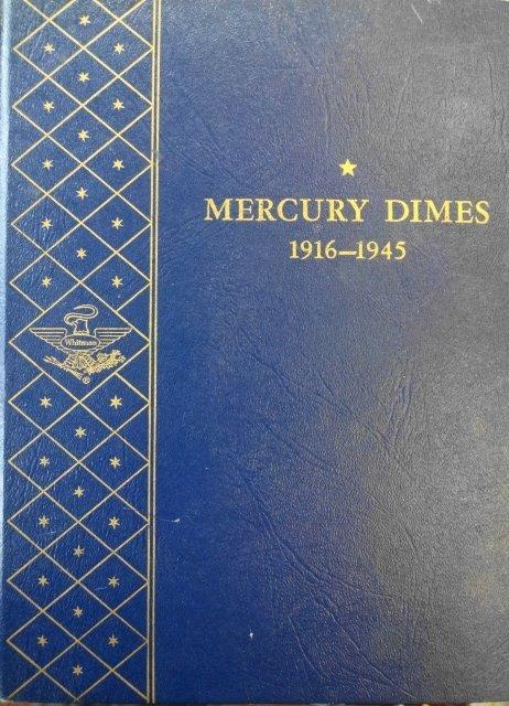 Mercury Dimes 1916 - 1945, 61 Total
