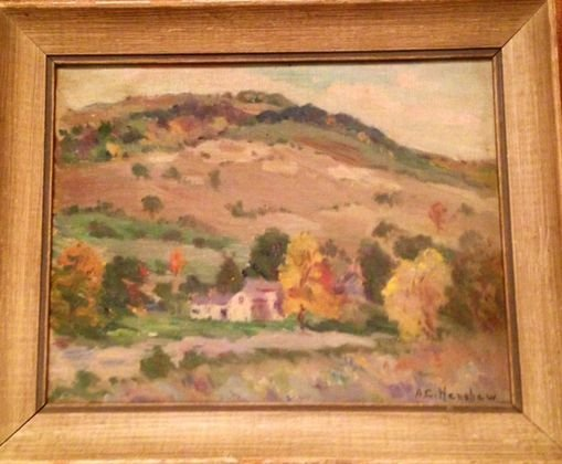 American Impressionist Painting, A. Henshaw, c1930
