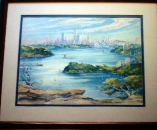 Australian Painting, Robert Curtis, 1971