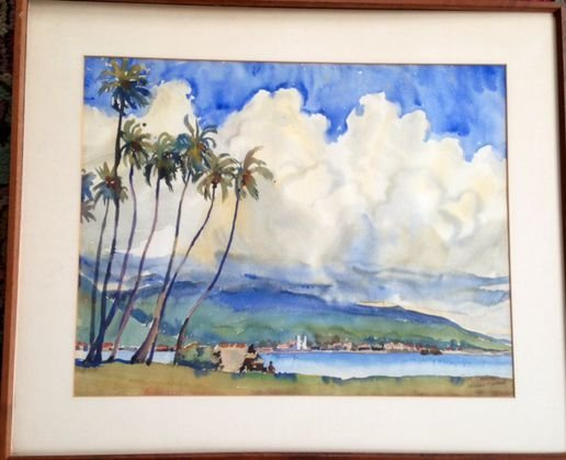 South Pacific Painting, Wallace Turner