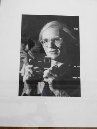 Andy Warhol With Camera, Ron Galella Photograph