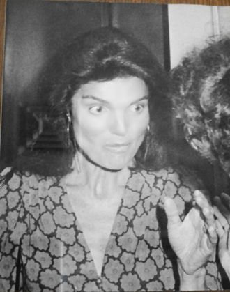 Jackie Kennedy Onassis, Ron Galella Photograph