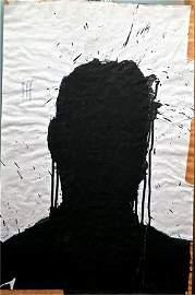 Richard Hambleton Shadow Painting