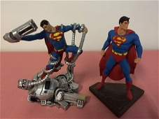 Mini Superman Statues DC Direct Limited Edition