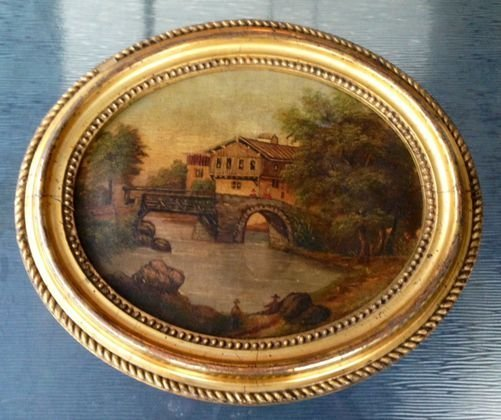 American School Painting 19th Cent, Signed & Dated