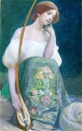 Swiss School Painting, L.P. Robert, 1903