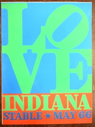 "Robert Indiana, ""Love, Indiana Stable 1966"" Poster"