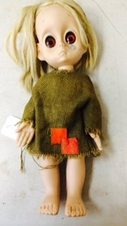 Hasbro Little Miss No Name Doll with Tear, 1965