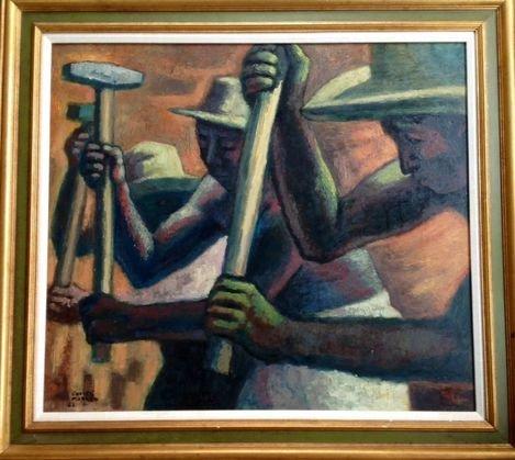 Jose Chavez Morado, (Mexico 1909-2002), Painting