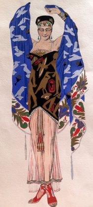 "Leon Bakst, (Russian 1866-1924), ""Salome"" 1927"