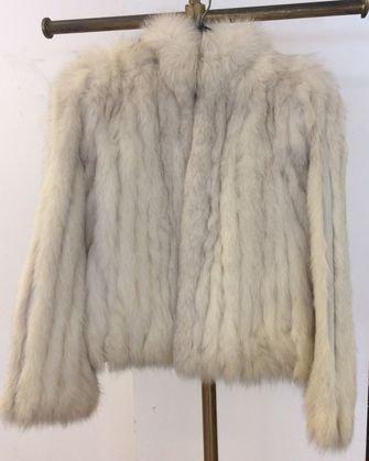 Norwegian Fox Fur Jacket. Size Small