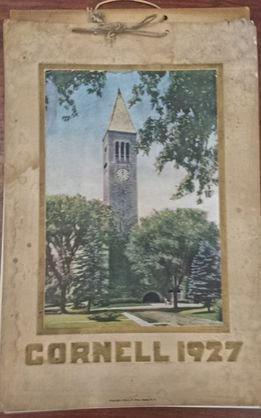 1927 Cornell University Calendar