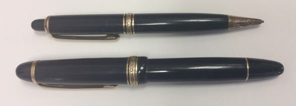 Montblanc Masterpiece 148 Fountain Pen & Pencil