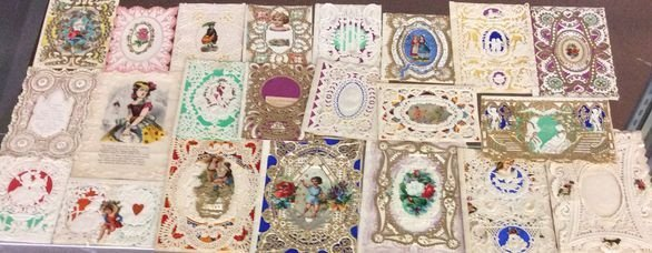 Victorian Valentine Collection, With 3-D. Assortment