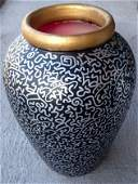LA II (Angel Ortiz), Graffiti Terra Cotta Vase