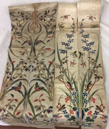 Antique Chinese Embroidered Silk Textiles (4)