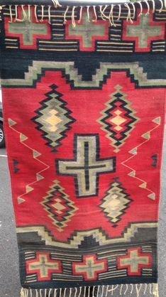 American Indian Navajo Rug, c1930