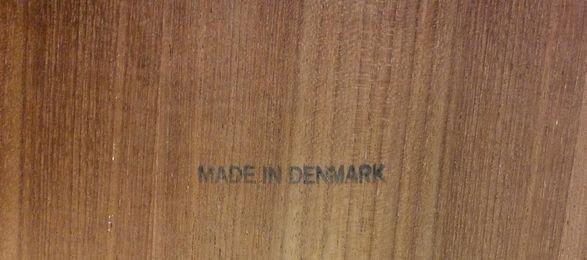Danish Mid Century Modern Teak Telephone Bench - 2