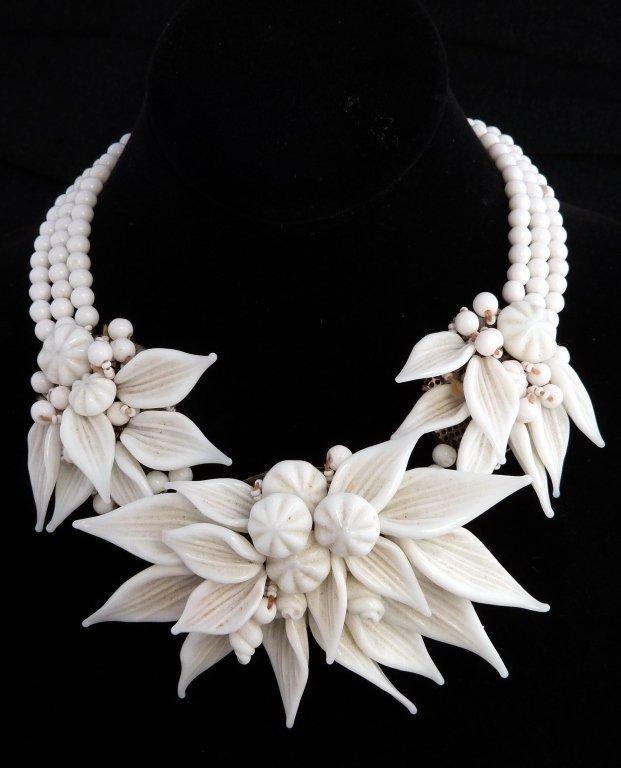 19: Miriam Haskell Prototype necklace