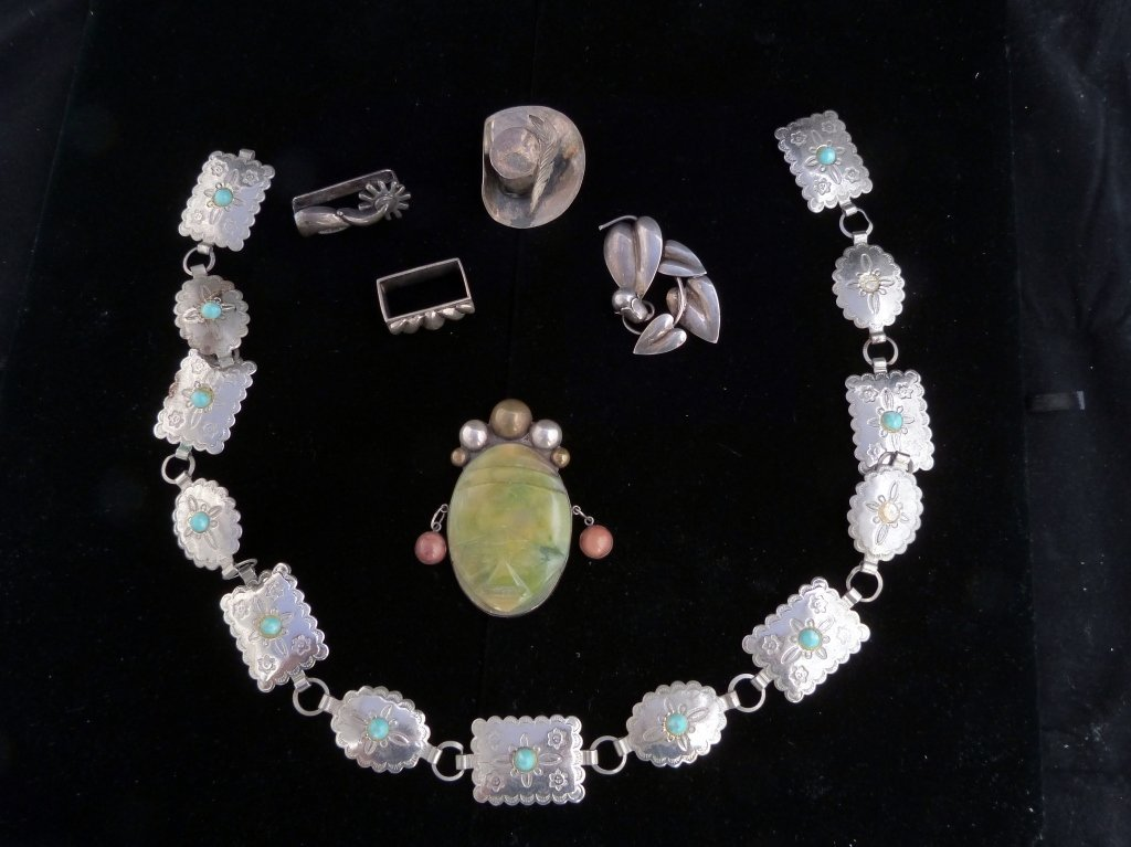 21: Assorted Lot of Mexican Jewelry