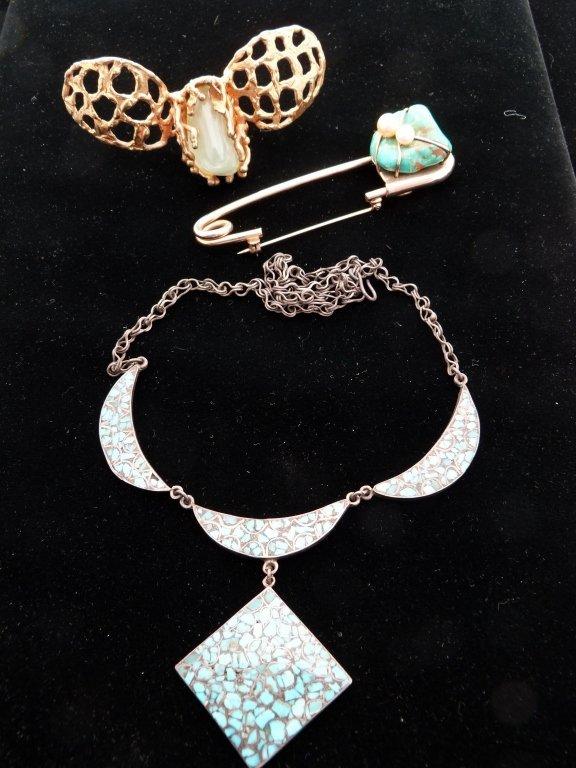 53: 3 Pcs Of Jewelry