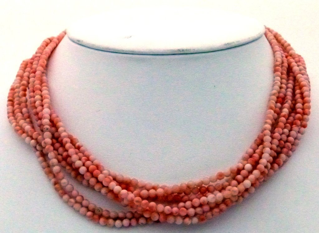 12: Coral Angelskin Necklace