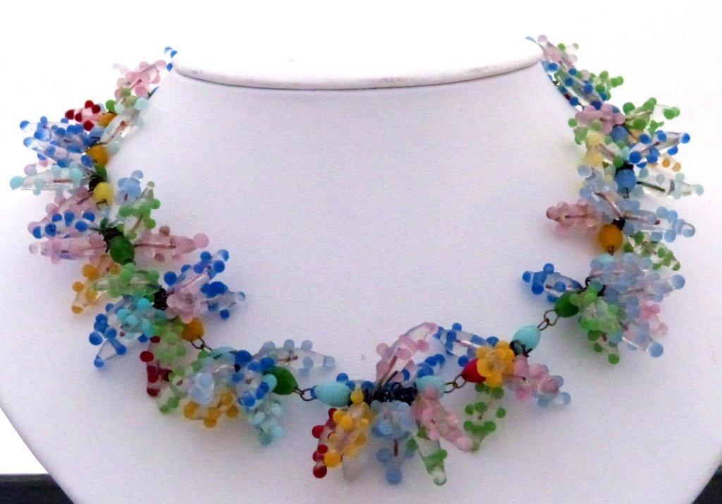 21: Venetian Glass Beaded Necklace