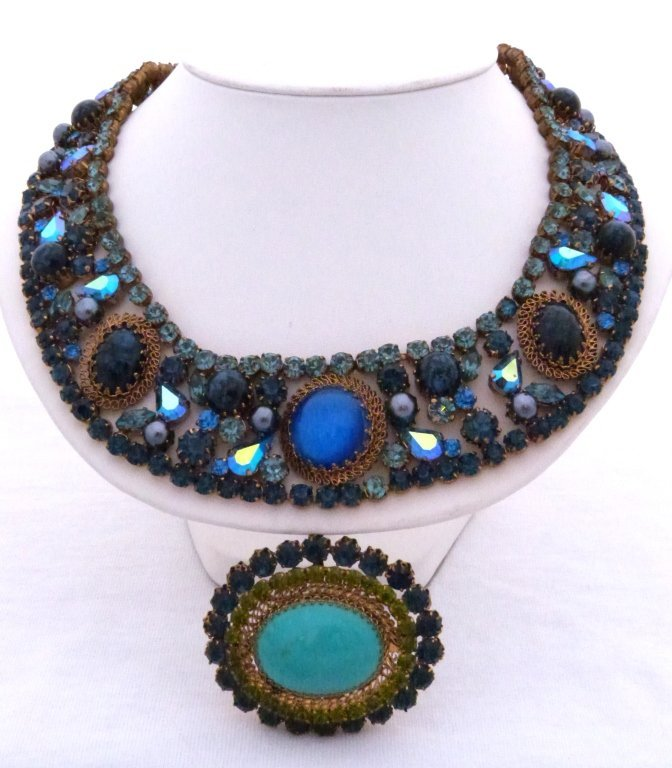 23: Necklace & Pin - Made In Austria