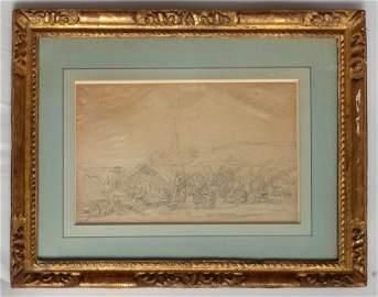 """189:Emile  Boudin 1858, """"Le Pardon de Ste-Anne-la Palud"""