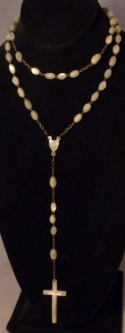 18: Mother of Pearl Rosary