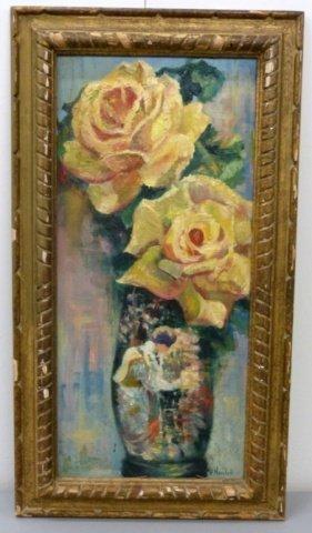 H. Nevelett Floral Still Life