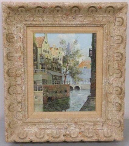 V.L. Dispo Sr.  Venetian Canal Scene