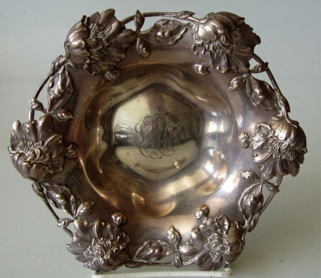 4: ORNATE MARSHALL FIELD STERLING BOWL