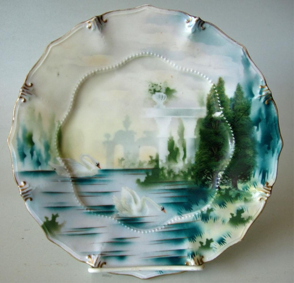 5: R.S.PRUSSIA HANDPAINTED PLATE