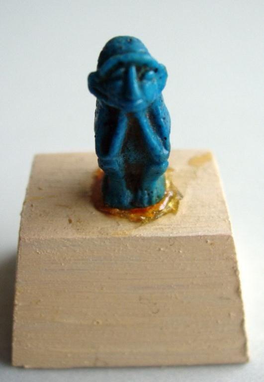 20: ANCIENT EGYPTIAN PLAYFUL MONKEY AMULET