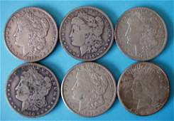 34: LOT OF SILVER DOLLARS
