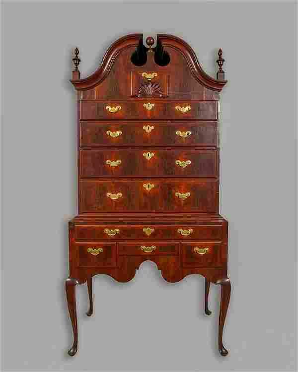 THE SAMUEL GARDNER IMPORTANT QUEEN ANNE WALNUT AND