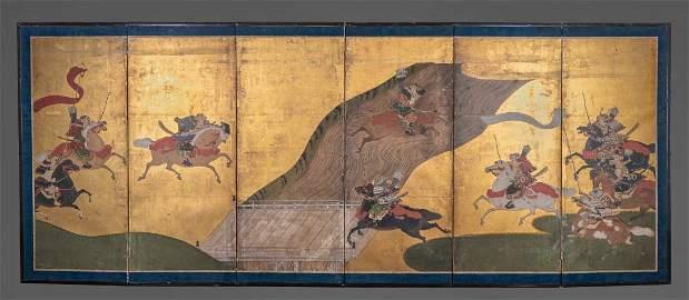 Japanese Six-Panel Screen