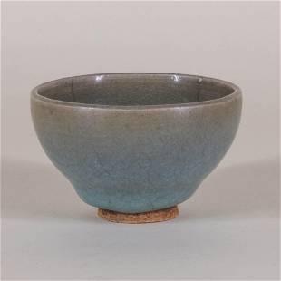 Small Jun Ware 'Bubble' Bowl
