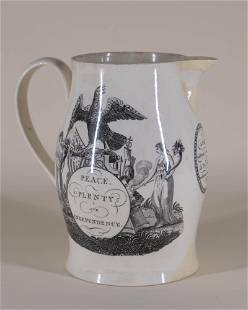 American Revolution Pearlware Pitcher